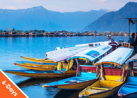 Kashmir 6 Nights / 7 Days Summer Deluxe
