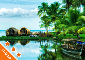 Kerala  10 Nights / 11 Days Deluxe
