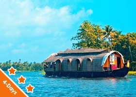 Kerala 3 nights / 4 days Deluxe