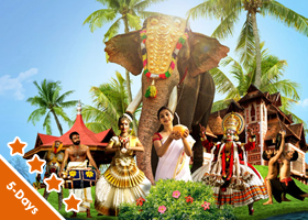 Kerala 4 Nights / 5 Days Superior