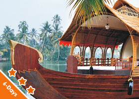 Kerala  5 Nights / 6 Days Deluxe