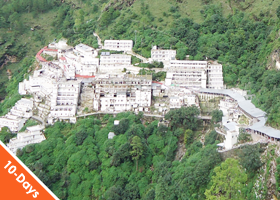 Kashmir with Vaishnoi Devi Darshan 9 Nights / 10 Days