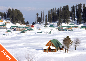 Kashmir in Winter 06Nights / 07Days Deluxe