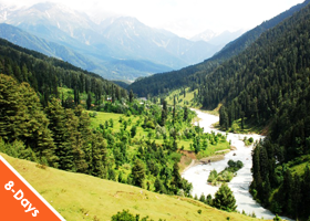 Kashmir with Vaishnoi Devi Darshan (Summer Special) 7 Nights – 8 Days