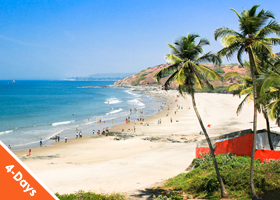 GOA 3 nights / 4 days – Rahi Coral Beach Resort