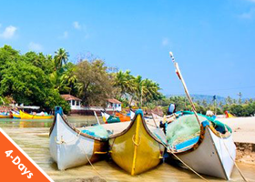 GOA 3 nights / 4 days – Lambana Resort