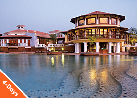 GOA 3 nights / 4 days - Vivanta By Taj Holiday Village 5*