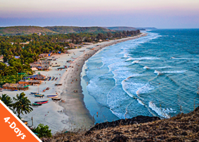GOA 3 nights / 4 days – Lagoa Azul