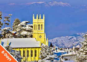 Himachal 7 nights / 8 days