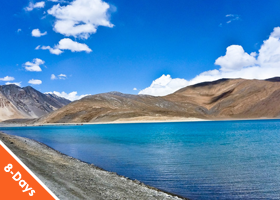 Ladakh 7 Nights / 8 Days with Flight Ex Mumbai Superior